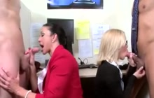 Jewels Jade and Nicole Aniston in office foursome