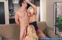 CFNM threesome with Nikki and Bridgette