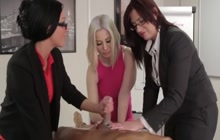 Horny office hoes