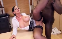 German MILF secretary pounded by BBC